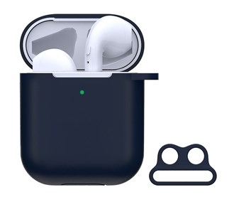 Devia - Silicone for Apple & Devia AirPods (All Gen) - Blue