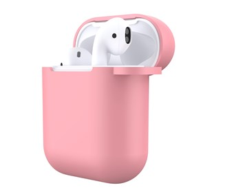 Devia - Silicone for Apple & Devia AirPods (All Gen) - Pink