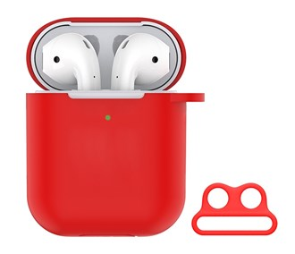 Devia - Silicone for Apple & Devia AirPods (All Gen) - Red