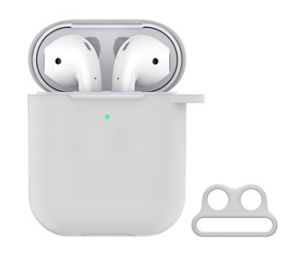 Devia - Silicone for Apple & Devia AirPods (All Gen) - White