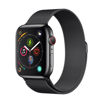 Devia - Milanese Strap for Apple Watch (42mm/44mm) - Black