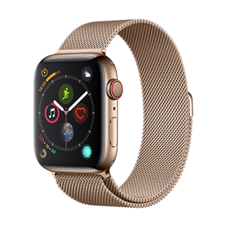 Devia - Milanese Strap for Apple Watch (42mm/44mm) - Rose Gold