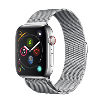 Devia - Milanese Strap for Apple Watch (42mm/44mm) - Silver