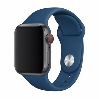 Devia - Silicone Strap for Apple Watch (38mm/40mm) - Blue Horizon