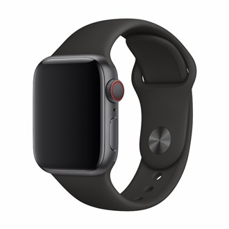 Devia - Silicone Strap for Apple Watch (42mm/44mm) - Black