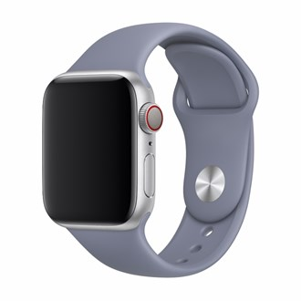 Devia - Silicone Strap for Apple Watch (42mm/44mm) - Lavender Grey