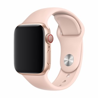 Devia - Silicone Strap for Apple Watch (42mm/44mm) - Pink Sand