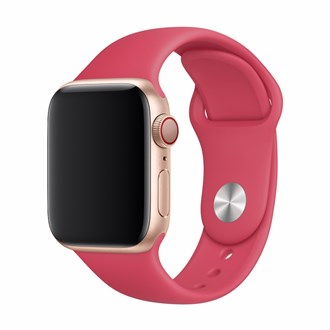 Devia - Silicone Strap for Apple Watch (42mm/44mm) - Red