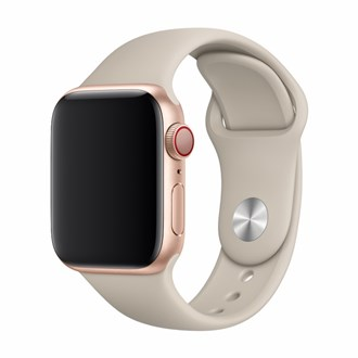 Devia - Silicone Strap for Apple Watch (42mm/44mm) - Stone
