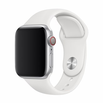 Devia - Silicone Strap for Apple Watch (42mm/44mm) - White