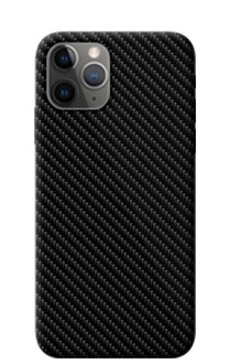 Devia - Pack of 20 Intelligent Mobile Phone Back Skin Protectors - Carbon Fibre - Black