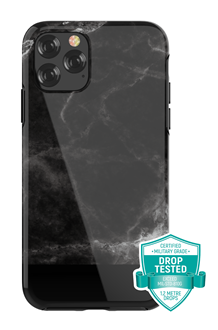 Devia - Marble for iPhone 11 - Black