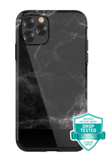Devia - Marble for iPhone 11 Pro - Black