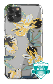 Devia - Flower for iPhone 11 Pro Max - Yellow