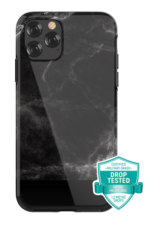 Devia - Marble for iPhone 11 Pro Max - Black