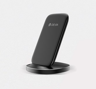 Devia - 10W Wireless Charging Dock - Black