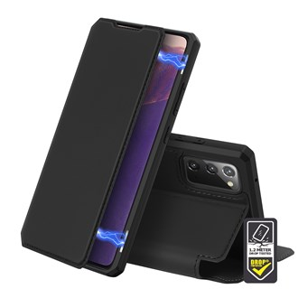 Dux Ducis - Skin X Wallet for Galaxy Note 20 - Black