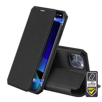 Dux Ducis - Skin X Wallet for iPhone 12 Pro Max - Black