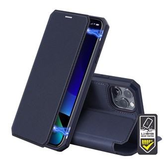 Dux Ducis - Skin X Wallet for iPhone 12 Pro Max - Blue