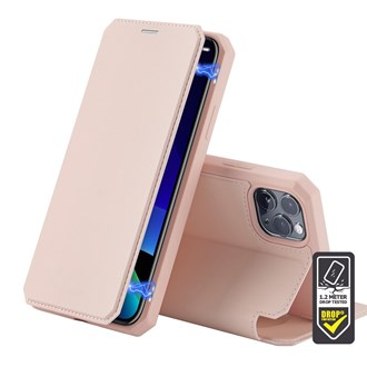 Dux Ducis - Skin X Wallet for iPhone 12 Pro Max - Pink