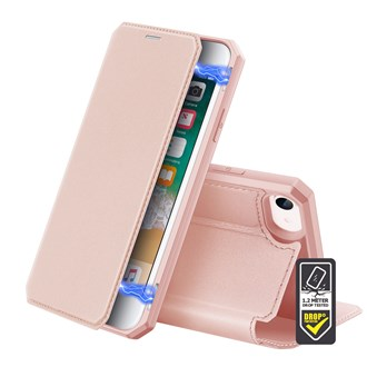 Dux Ducis - Skin X Wallet for iPhone SE/8/7 - Pink