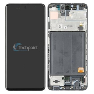 Samsung - LCD & Display Touch Screen Assembly for Galaxy A21s (SM-A217) - Black