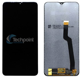 Samsung - LCD & Display Touch Screen Assembly for Galaxy A41 (SM-A415F) - Black