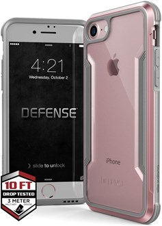 Raptic Shield for iPhone SE/8/7 - Rose Gold