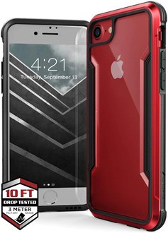 Raptic Shield for iPhone SE/8/7 - Red