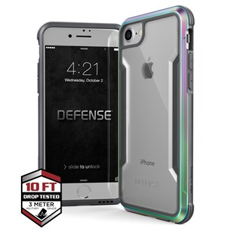 Raptic Shield for iPhone SE/8/7 - Iridescent