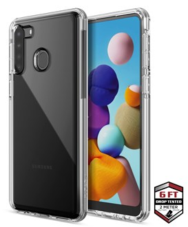 Raptic Clear for Galaxy A21s - Clear