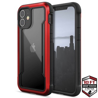 Raptic Shield for iPhone 12 Mini - Red