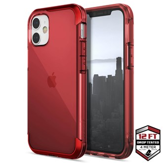 Raptic Air for iPhone 12 Mini - Red