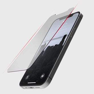 Raptic Glass 3D Full Coverage for iPhone 12 & iPhone 12 Pro - Clear