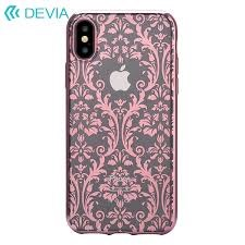 Devia - Official Swarovski Crystals Floral for iPhone XS/X - Silver