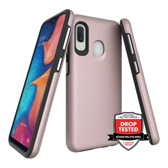 ProGrip for Galaxy A20e - Rose Gold