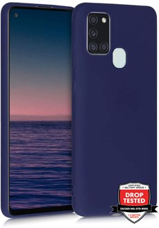 Silicone for Galaxy A21s - Navy