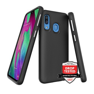 ProGrip for Galaxy A40 - Black