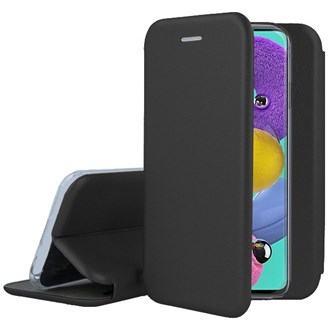 Clamshell Wallet for Galaxy A51 - Black