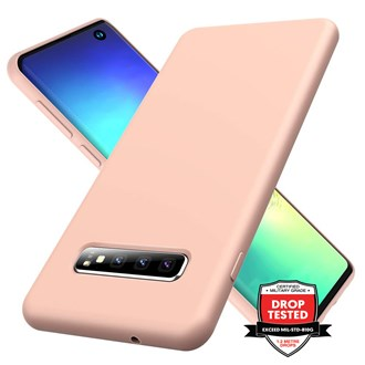 Silicone for Galaxy S10 Plus - Pink