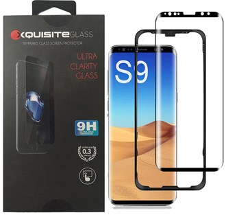Xquisite 3D Glass - Galaxy S9 (Mounting Frame Included)