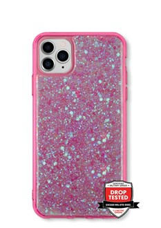 GlitterFlake for iPhone 11 - Pink