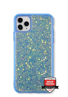 GlitterFlake for iPhone 12 & iPhone 12 Pro - Blue