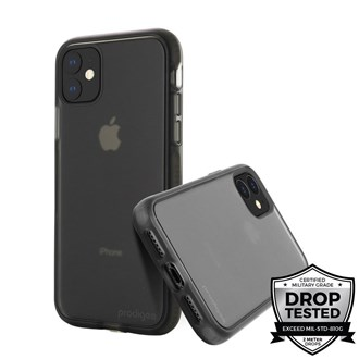 Prodigee - Safetee Smooth for iPhone 11 - Smoke